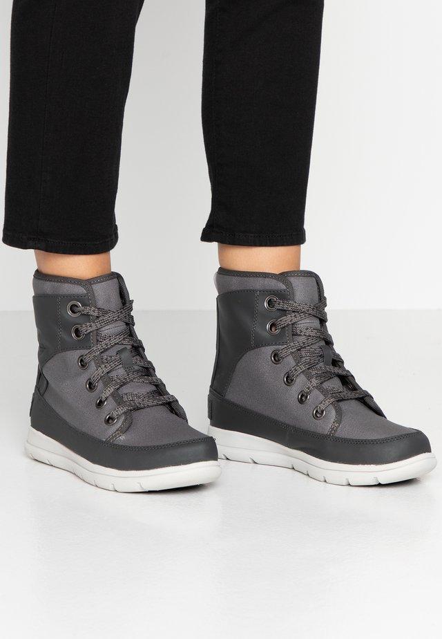 EXPLORER - Lace-up ankle boots - quarry