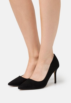 DELE POINT STILETTO COURT - Højhælede pumps - black
