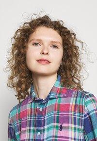 Polo Ralph Lauren - PLAID - Button-down blouse - pink/blue - 3