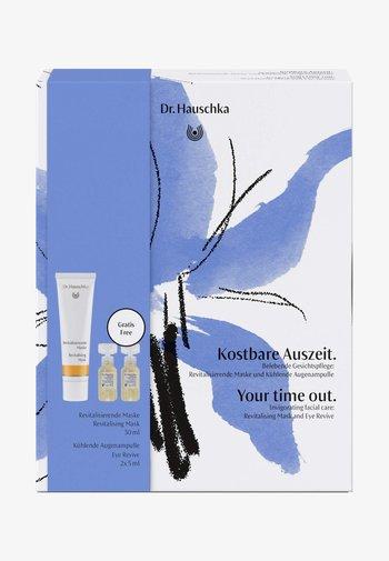 GESCHENKSET KOSTBARE AUSZEIT - Skincare set - -