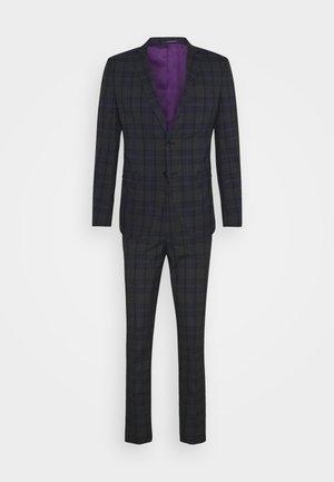 SLHSLIM  - Suit - dark grey/blue