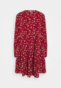 Missguided Tall - LONG SLEEVE SMOCK DRESS - Kjole - brick - 1