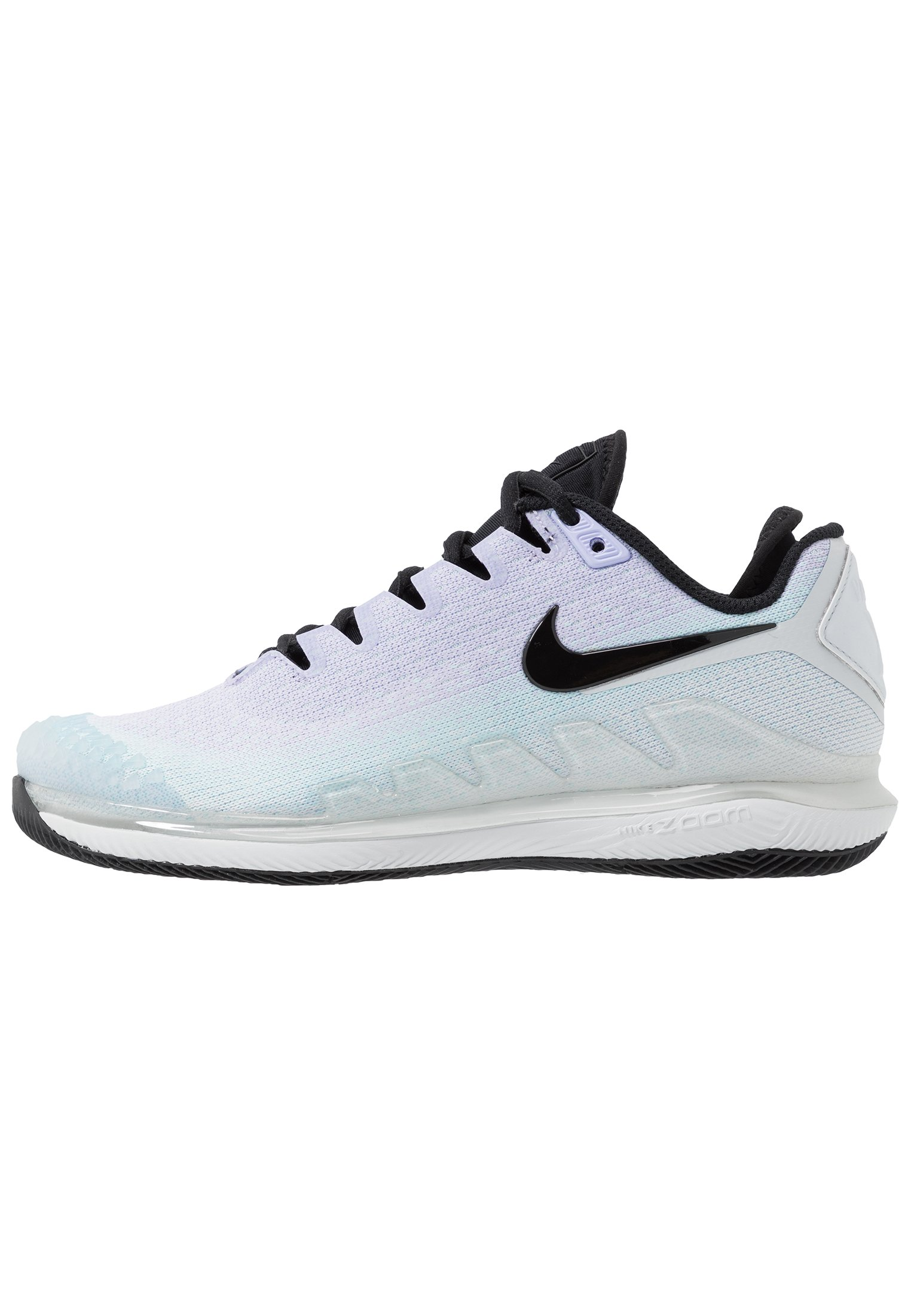 Nike Performance AIR ZOOM VAPOR X - Allcourt tennissko - opti yellow/valerian blue/bright citron
