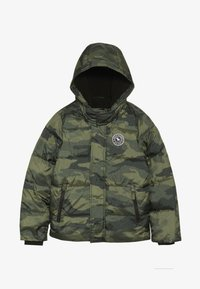 Abercrombie & Fitch - ESSENTIAL PUFFER - Winter jacket - khaki - 2