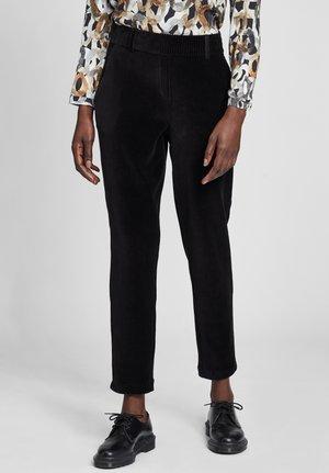 MODERN FIT  - Trousers - schwarz