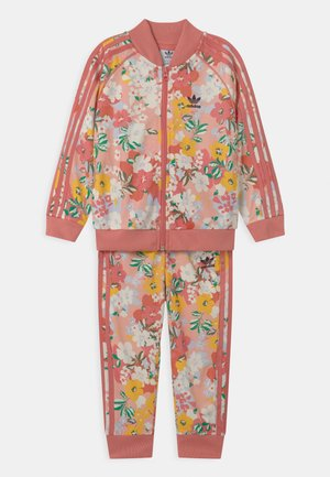 FLORAL SUPERSTAR SET - Tracksuit - trace pink/multicolor/hazy rose
