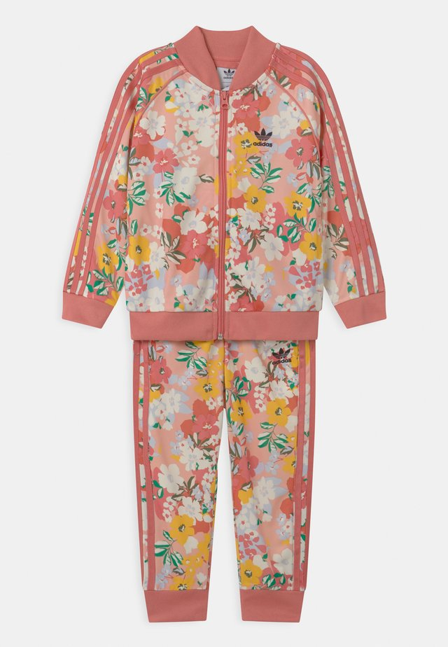 FLORAL SUPERSTAR SET - Verryttelypuku - trace pink/multicolor/hazy rose