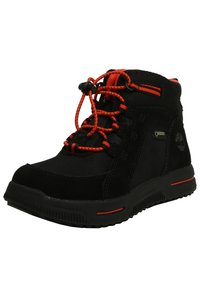 Timberland - CITY STOMP BUNGEE MID GTX - Lace-up ankle boots - jet black - 2