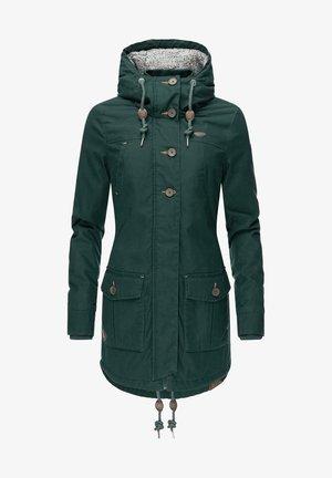 JANE - Winter coat - dark green