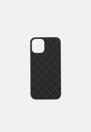 PAMSY iPhone 12 Max - Étui à portable - dark chokolate