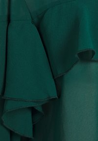 Simply Be - RUFFLE FRONT BLOUSE - Blouse - emerald green - 2