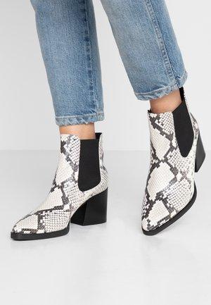 CAROL - Ankle boots - weiß