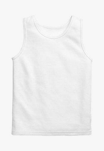 2 PACK VESTS - Top - white