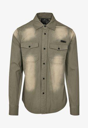 HARDEE - Camisa - olive