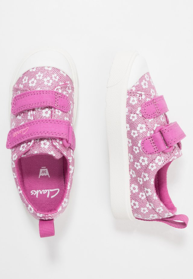 CITY BRIGHT - Sneakers laag - pink
