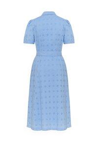 Marks & Spencer London - BROIDERIE - Shirt dress - blue - 1
