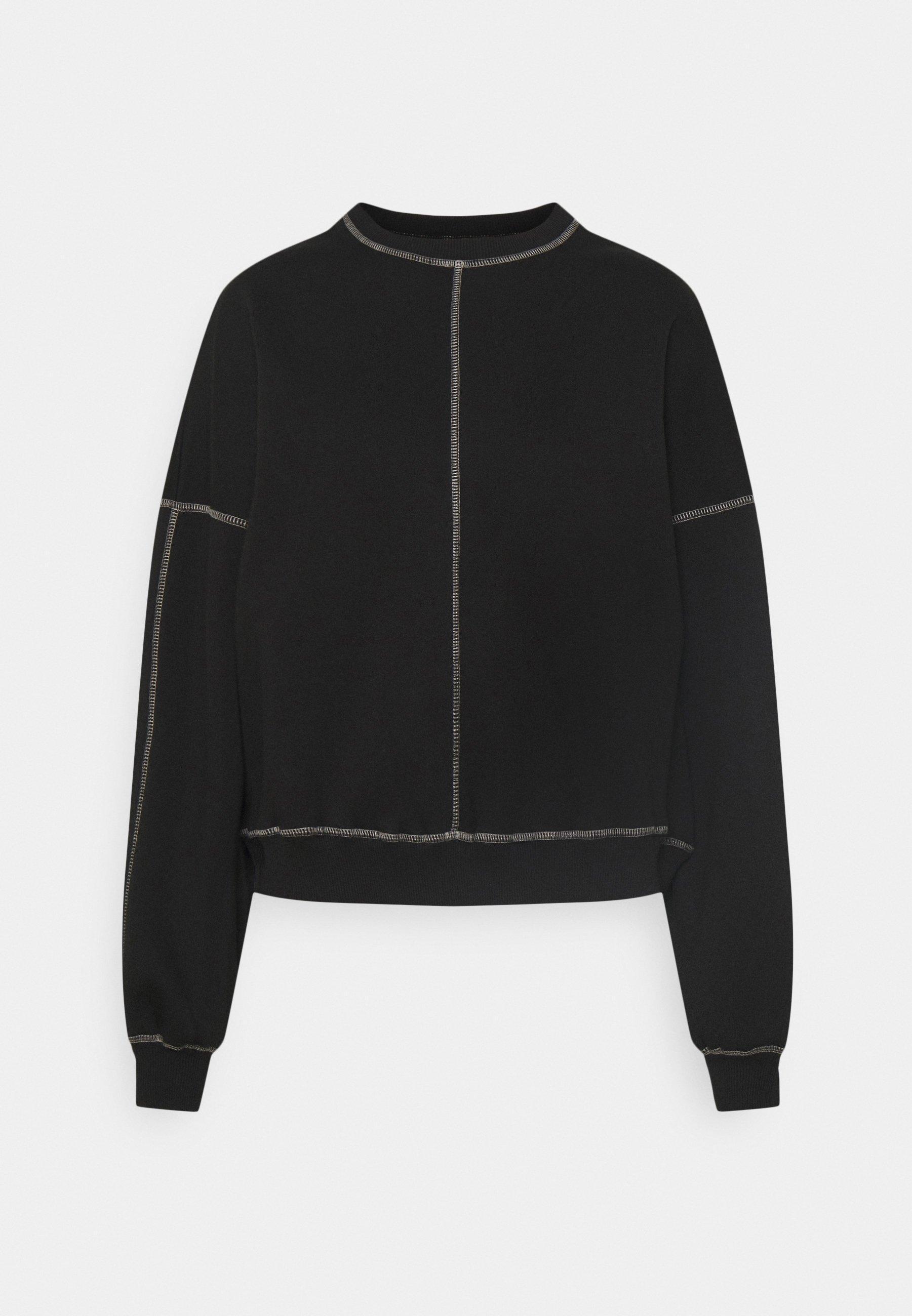Women CONTRAST SEAM - Sweatshirt
