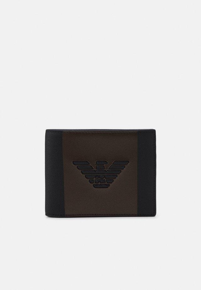 Portafoglio - black/bronze