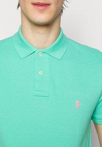 Polo Ralph Lauren - SHORT SLEEVE KNIT - Polo - sunset green - 5