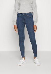 ONLY - ONLRAIN LIFE - Jeans Skinny Fit - dark blue denim - 0