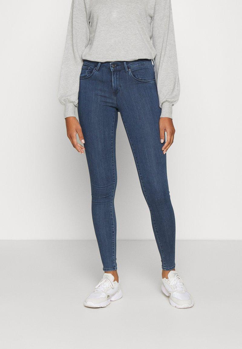 ONLY - ONLRAIN LIFE - Jeans Skinny Fit - dark blue denim