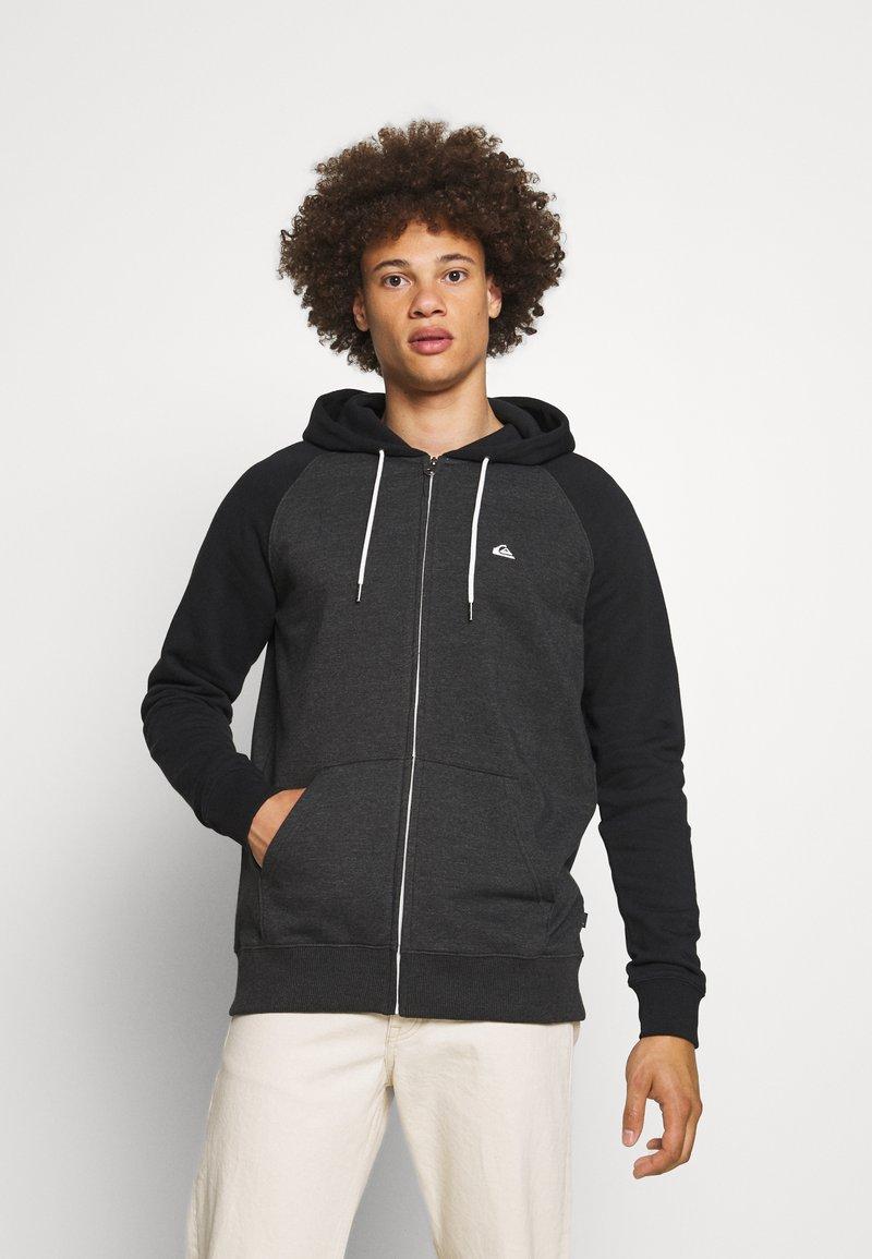 Quiksilver - EVERYDAY ZIP - Zip-up sweatshirt - dark grey heather