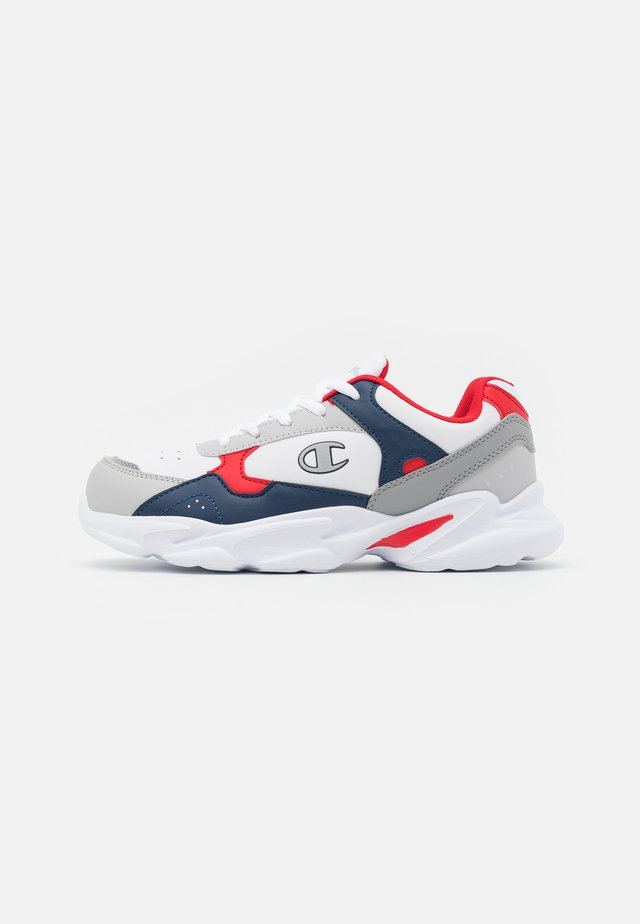 LOW CUT SHOE PHILLY UNISEX - Sportschoenen - white/navy/red