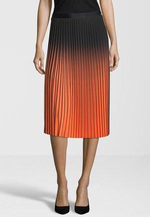 CICALLA - Pleated skirt - schwarz