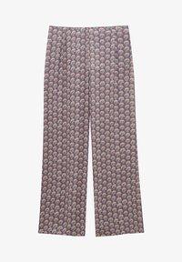 PULL&BEAR - Trousers - mottled purple - 5
