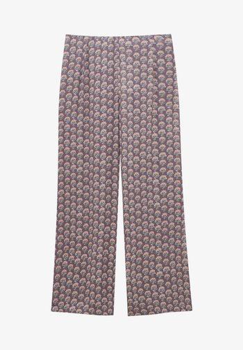 Pantalon classique - mottled purple
