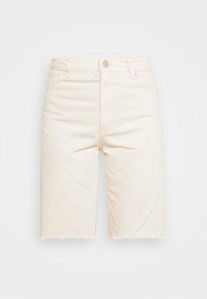 Shorts vaqueros - white light