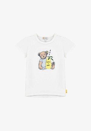 HELLO SUMMER - T-shirt print - bright white