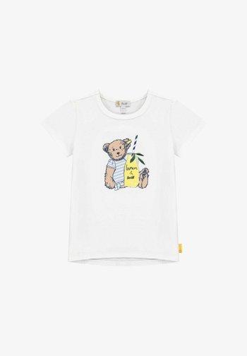 HELLO SUMMER - Print T-shirt - bright white