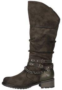 Mustang - Cowboy/Biker boots - dunkelgrau 20 - 2