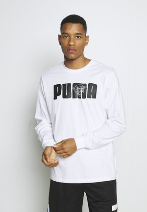FRANCHISE STREET TEE - Long sleeved top - white