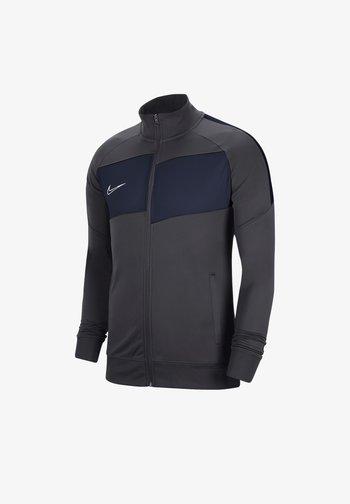 Training jacket - graublauweiss