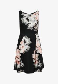 Swing - Day dress - schwarz mehrfarbig - 0