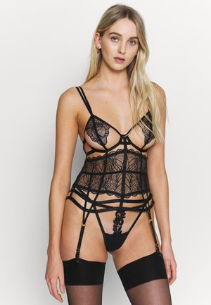 EMERSON BASQUE - Korsett - black