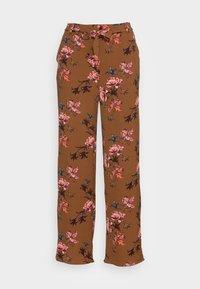 ONLNOVA PALAZZO PANT - Trousers - argan oil/fall devon