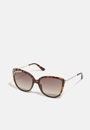 Sunglasses - dark havana/gradient brown