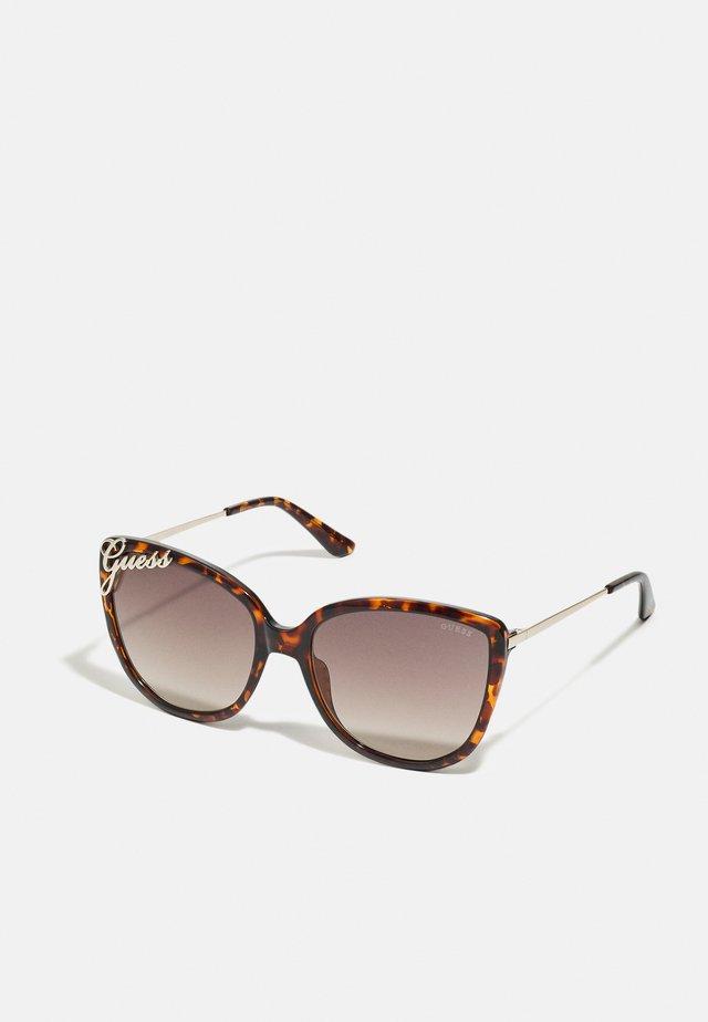 Sonnenbrille - dark havana/gradient brown