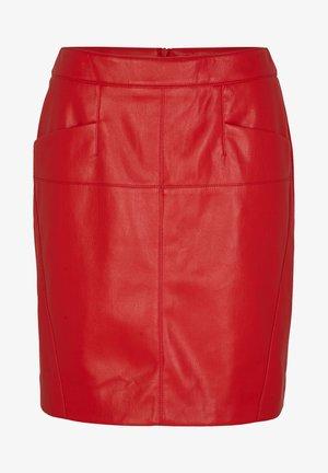 Pencil skirt - aurora red