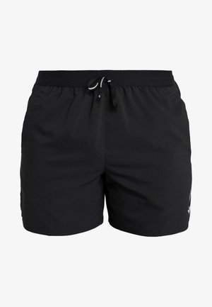 M NK FLEX STRIDE SHORT 5IN BF - Korte sportsbukser - black/silver