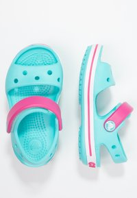 Crocs - CROCBAND KIDS - Pool slides - pool/candy pink - 1