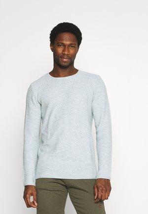 KRISTAN - Stickad tröja - blue wave