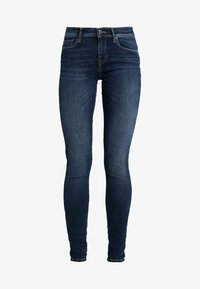 ONLY - ONLSHAPE - Vaqueros pitillo - dark blue denim - 3