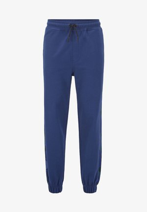 SUPERSONIC - Tracksuit bottoms - dark blue