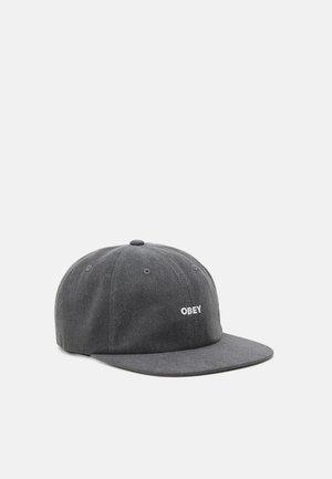 PIGMENT PANEL STRAPBACK UNISEX - Cap - black