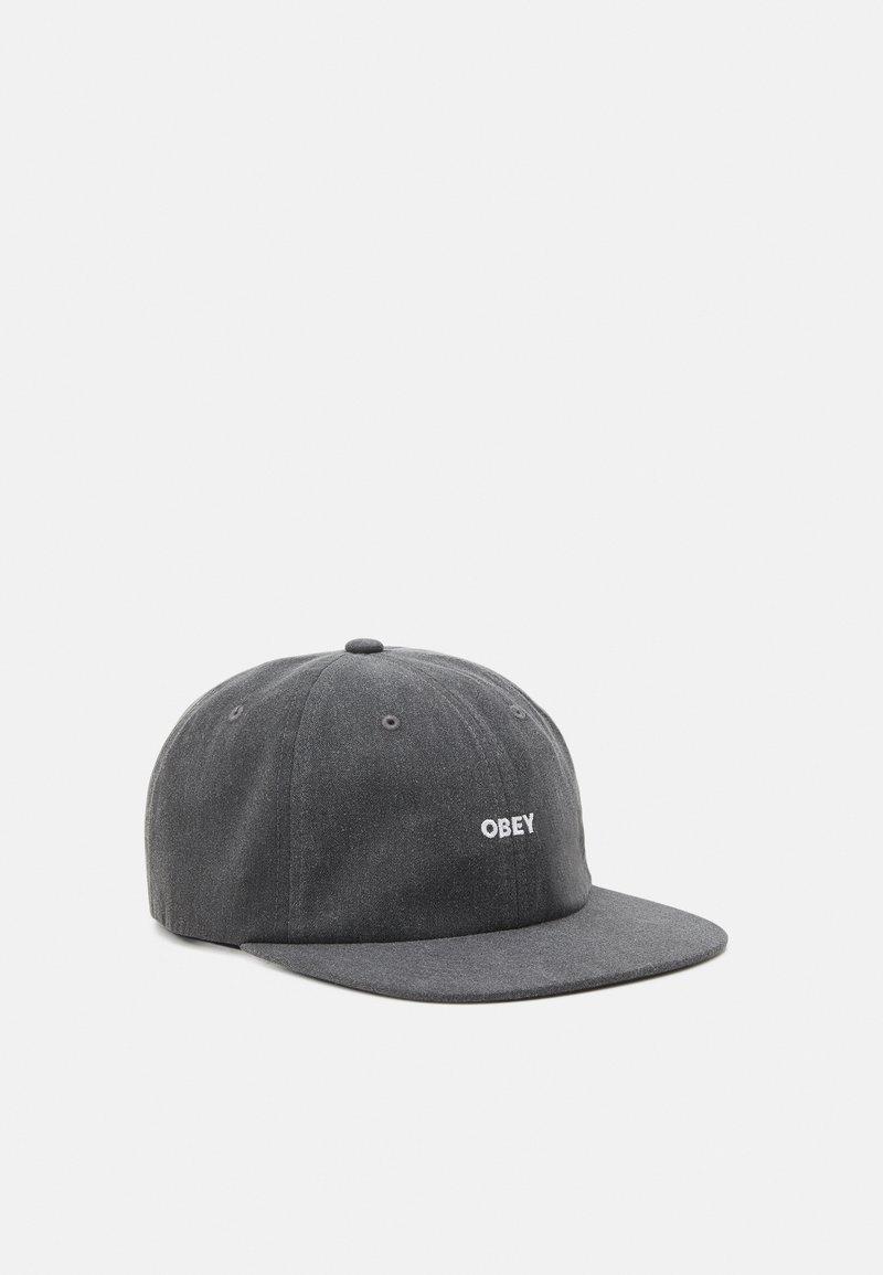 Obey Clothing - PIGMENT PANEL STRAPBACK UNISEX - Cap - black