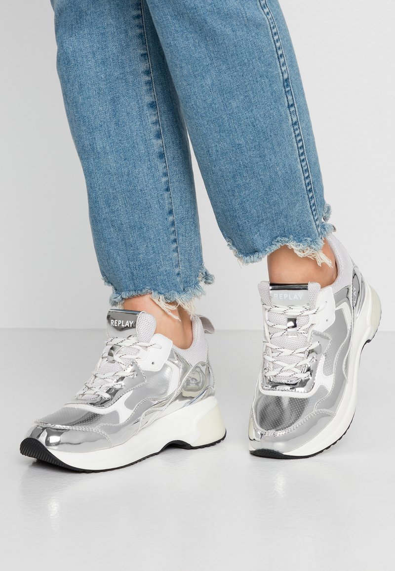 Replay - LAGLEY - Trainers - silver